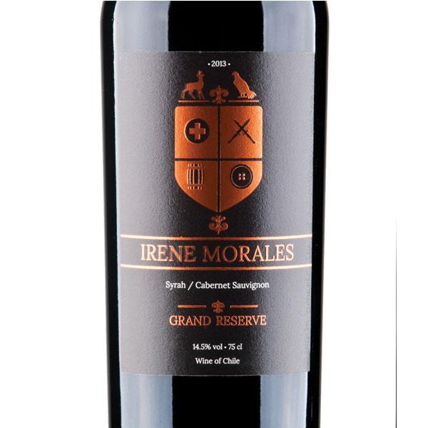 Irene-Morales-Syrah-Cabernet-Sauvignon-Label